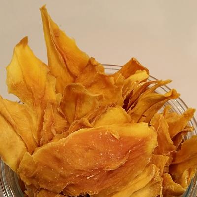 Mangues biologiques séchées et tranchées - 100gr